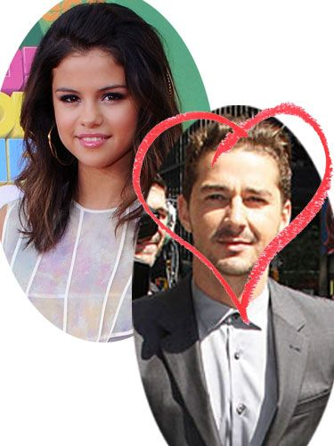 "Look away Justin Bieber! It was actually Shia LaBeouf who first caught Selena Gomez's eye, which made for a rather embarrassing encounter when both stars were recently appearing on US show Regis and Kelly. The singer approached the Transformer's 3 star backstage, saying; ""I'm so sorry to bother you. I admire you."" Shia replied with; ""Thanks for being so sweet to me,"" prompting Selena to later claim; ""Oh my gosh, he's so handsome!"""