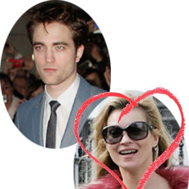"""There will be tears from Robert Pattinson today as his childhood crush Kate Moss walks down the aisle - the Twilight star recently confessed his love for the supermodel, saying&#x3B; """"I was always obsessed with Kate Moss. On my bedroom wall I had a poster of Linda Blair and Kate Moss. I always liked Jane Fonda. Who else? Ellen Burstyn."""" Obviously his only love is Kristen Stewart now though."""