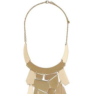 <p>Pack away your Peter Pan collars girls! The new Freedom jewellery collections have just gone into Topshop and Dorothy Perkins boasting the most amazing neckwear pieces. This humdinger necklace is topping our list</p>