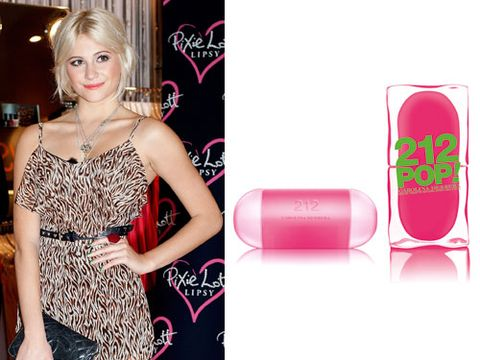 <p>Are you a fun-loving girlie girl who lives in the moment but keeps two feet firmly on the ground? Well, like popster Pixie Lott you'll no doubt love the new perfume from Carolina Herrera.</p>  <p>It's sweet, in a thirst-quenching fruity way with notes of bergamot and grapefruit that are grounded by sandalwood and musk. </p>  <p>£36/60ml</p>