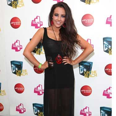 """<p>Stephanie Davis was just one of the Hollyoaks cuties dolled up in her finest to check out the acts at T4 On The Beach. Who was she most looking forward to seeing? """"Cher Lloyd!"""" All over a bit of Swagger Jagger apparently…</p>"""