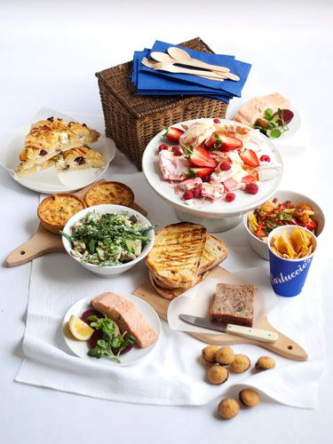"<p>Looking for inspiration for a date? Shun the standard scenario of dinner or drinks and go for a picnic (you can make it an indoor event if the weather is bad). To ensure you enjoy an elegant and edible picnic, Carluccio's have a fresh made-to-order hamper for girls on the go. The picnic is crammed with delicious treats including focaccia stuffed with ricotta and pancetta, poached salmon salad, pork and mushroom terrine and Eton mess.  Priced at £45 for two, you can add a bottle of wine for £10.50 and make it the perfect date. Visit <a href=""http://www.carluccios.com/"" target=""_blank"">carluccios.com</a> </p>"