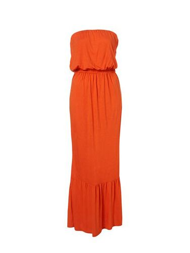 "<p>Sometimes a mini doesn't cut it. For those of you who can't live without your maxi dresses, this strapless orange number is our pick!</p><p>£29, <a href=""http://www.topshop.com/webapp/wcs/stores/servlet/ProductDisplay?beginIndex=0&viewAllFlag=&catalogId=33057&storeId=12556&productId=2484414&langId=-1&sort_field=Relevance&categoryId=208523&parent_categoryId=203984&pageSize=20 ""target=""_blank""> topshop.com </a></p>"