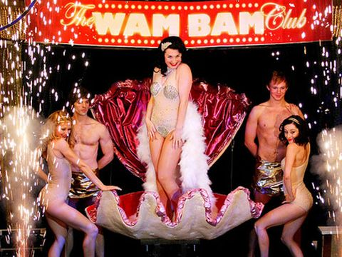 """The demand for cabaret shows no sign of cooling down as show after show emerges and we're not complaining! This week's taking is the Wam Bam Club at Café de Paris, London. Hosted by buxom burlesque star Lady Alex, the night features an array of acts from comedy burlesque to transfixing routines with the option of dining. Tickets cost from £35, and it's worth every penny! See <a href=""""http://www.wambamclub.com/whats-on.html""""target=""""_blank"""">wambamclub.com</a>"""