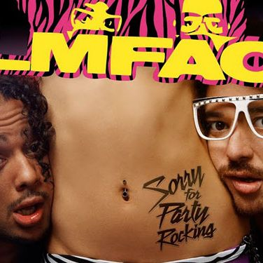 <p>Sorry For Party Rocking, LMFAO</p><p>If you haven't heard LMFAO's foot-stomping/ear-aching (delete where appropriate) Party Rock Anthem, where on earth have you been the past few months? Well, the uncle/nephew duo – also responsible for I'm in Miami, Bitch– may sound like they're apologising, but really they're just giving you 14 similarly themed ('we love going out, getting wrecked, and gorgeous girls') floor fillers. Me? I like 'em. I'm even considering calling my first born Redfoo. Obvs, Party Rock Anthem is, well, an anthem. Then there's Sexy and I Know It, We Came Here to Party, and Hot Dog (I love hot dogs too, come to think of it). They're all great tunes that'll have the floor filled, or your living room bouncing, and you won't need to change the CD for at least an hour. And with cool credits from executive producer Will.i.am and guests Busta Rhymes and Calvin Harris, they're not as cheesy as they sound. But be warned&#x3B; all the songs sound sorta the same. So if you found yourself wishing harm on everyone 'shufflin' around you, stay clear. If not? Party (Rock) on!</p><p>Debbie McQuoid</p>