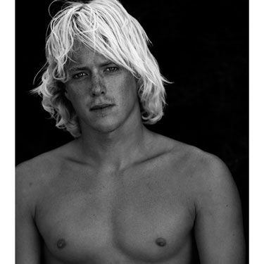 Dashing Dutchman Yannick de Jager has been surfing since 7 and you can certainly tell from this well-honed bod! Coupled with his luscious blond locks, we're not surprised this Protest surfer is with an equally beautiful woman