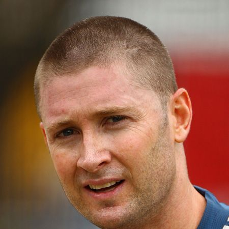 Mike used his skills (and sexiness) to become vice captain of the Australian team, although he's anything but second best