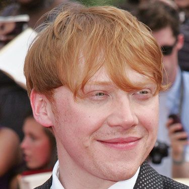 The Harry Potter star is almost as famous for his hair as he is for the film franchise he starred in. He said, 'I get recognized a lot because my hair stands out.' We reckon it's also because he's pretty cute!