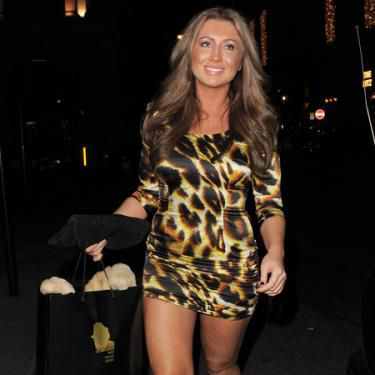 <p>The 24-year-old TOWIE star has said she is fed up with the criticism over her curvaceous figure and is more than happy with her size 10 bod.</p> <p>Lauren told Star Magazine 'I don't feel insecure about my figure, I'm happy with the way I look.</p> <p>'At the end of the day people might go on about my weight, but I'm the one engaged to Mark and happy.'</p> <p>Go Lauren!</p>