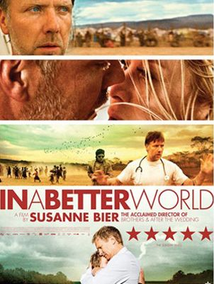 <p><strong>In A Better World (Mikael Persbrandt, Trine Dyrholm)</strong></p><p>If you've read (or seen) To Kill a Mockingbird you'll remember Atticus Finch, the patient father who teaches his children the value of striving for justice in an unjust world.  Anton is a dependable father – a Danish doctor in an African refugee camp – and a contemporary Atticus Finch. But how do you tell a child that he shouldn't get revenge on a bully? And how can Anton stand by his own principals when he crosses paths with a psychotic, murderous war lord? You'll find out in this gripping film</p><p><strong>Harriet Stigner</strong></p>