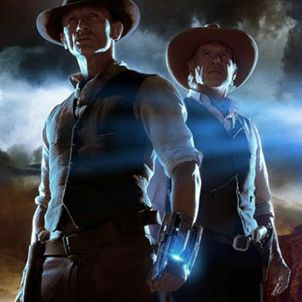 <p><strong>Cowboys & Aliens (Harrison Ford, Daniel Craig)</strong></p><p>Well, of course I saw this one with a boy. Just look at the title! But I thought that despite its man-friendly credentials, this might be one of those action flicks (see Speed) that works for the girls, too. After all, Daniel Craig being all lean and mean and fighting aliens? What's not to like? Sadly, the answer is, 'this film'. I was expecting a kind of Back To The Future 3-style past-meets-future romp, only good. But instead, this is a mishmash of noises and shapes and monsters and surprised cowboys which never really gels. And Harrison Ford tries too hard to be Jeff Bridges in True Grit. Let your boyfriend see this one on his own, and go and see One Day with your bezzie instead</p><p><strong>Rosie Mullender</strong></p>