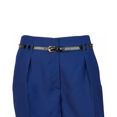 """<p>Stay chic in the city with these blue belted beauts from River Island. The transitional shorts will keep you stylish from both office to bar and won't break the bank – result!</p><p>£28, <a href="""" http://www.riverisland.com/Online/women/skirts--shorts/smart-shorts/blue-smart-city-shorts-609135"""" target=""""_blank""""> riverisland.com </a></p>"""