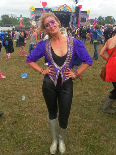 "<p><strong>Who?</strong> Natalie from Ascot</p> <p><strong>What festival?</strong> Bestival</p> <p><strong>Wear?</strong> Jacket from charity shop, French Connection leggings, Hunter wellies</p> <p><a title=""http://www.cosmopolitan.co.uk/fashion/shopping/festival-fashion-street-style?cmpid=fashionnav"" href=""http://www.cosmopolitan.co.uk/fashion/shopping/festival-fashion-street-style?cmpid=fashionnav"" target=""_blank"">CHECK OUT THIS YEAR'S FESTIVAL FASHION HERE!</a></p> <p><a title=""http://www.cosmopolitan.co.uk/fashion/shopping/festival-fashion-shopping-the-50-best-buys#fbIndex1"" href=""http://www.cosmopolitan.co.uk/fashion/shopping/festival-fashion-shopping-the-50-best-buys#fbIndex1"" target=""_blank"">NOT SURE WHAT TO WEAR? TAKE A LOOK AT THESE FESTIVAL MUST-HAVES!</a></p> <p><a title=""http://www.cosmopolitan.co.uk/love-sex/tips/festival-sex?cmpid=lovesexnav#fbIndex1"" href=""http://www.cosmopolitan.co.uk/love-sex/tips/festival-sex?cmpid=lovesexnav#fbIndex1"" target=""_blank"">HOW TO HAVE HOT FESTIVAL SEX</a></p>"