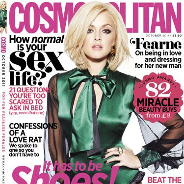 <p>Fearne's looking fabulous, heel the love with the 108 best shoes picked by our fashion experts, the 82 miracle beauty buys from £2, confessions of a love rat and how normal is your sex life? We answer the sex questions you're scared to ask...</p>