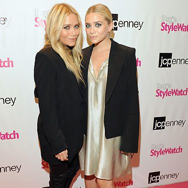 Wow! The Olsens stepped out in style this month and we could look at them all day. We adore Ashley's glam 90s look (right) and Mary Kate's super-blonde tresses. There's just one thing, we wish they'd come out to play more
