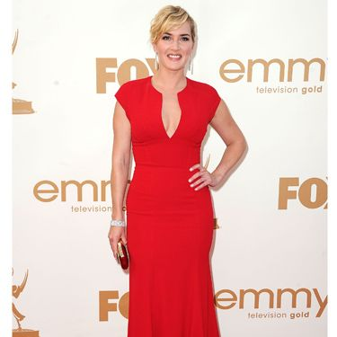 <p>Kate Winslet was a big winner at this year's Emmy Awards, thanks to her lead role in hit TV show Mildred Pierce. She made sure she looked like a winner too in this bright crimson Elie Saab gown with its oh-so-simple silhouette. Divine!</p>
