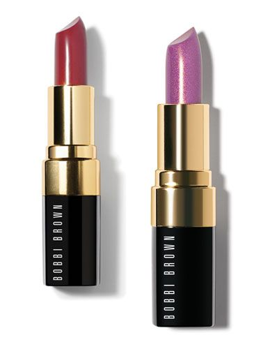 "<p>Autumnal colours should be appearing in your makeup bag right now so swap summer brights for burnt reds. We love the Desert Plum Lip Color from Bobbi Brown's Marrakesh collection and if that feels too grown up, there's the fabulous Metallic Lip Color in Violet Glaze, which will have your lips looking twinkly day or night. </p>  <p>Lip Color and Metallic Lip Color, £18, <a href=""http://www.bobbibrown.co.uk/cms/learn/marrakesh_chic.tmpl?cm_sp=WNGNAV-_-2508A_marrakesh"">bobbibrown.co.uk</p>"