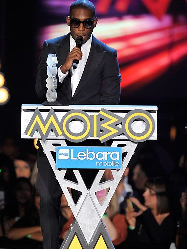 Tinie Tempah bagged the best hip hop/grime act awards and looked very cool as he accepted his award!