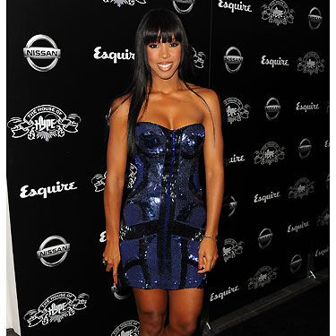 Kelly Rowland rocked it at the House of Hope 2011 MTV Music Video Awards after-party. She dazzled in her Roberto Cavalli blue sequin number and we adore her Christian Louboutin Spikes peep toes. Perfectomondo!