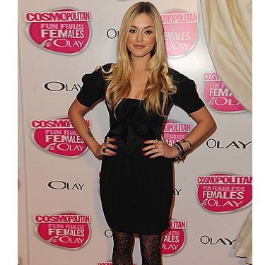 Fearne Cotton is obsessed with patterned tights, and why wouldn't she be? They're great for jazzing up a simple LBD, which Fearne expertly demonstrated at the Cosmopolitan Ultimate Women Of The Year Awards back in 2009.