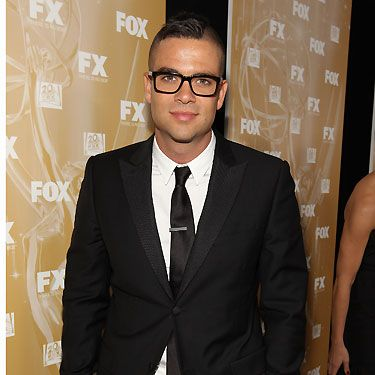 Glee's Mark Salling's award was for his handsome good looks as opposed to his singing skills! We gave him the 2010 'Ultimate Hottie' award