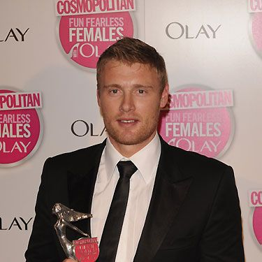Even though England's cricketer Andrew Flintoff is now retired, Cosmo honoured him with the 'Ultimate Celeb Man' award in 2009. We're sure his award is displayed with all his other shiny cricket trophies!