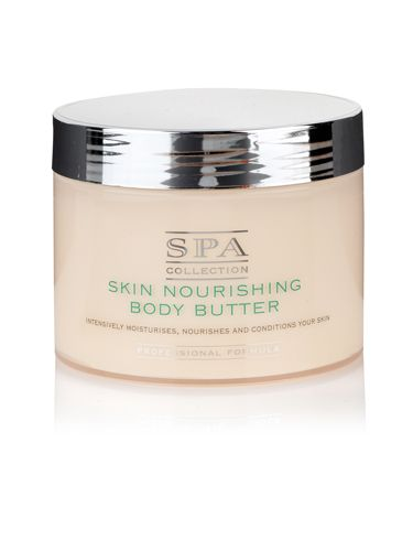 "<p>Wrap skin up in a thick and creamy lotion as soon as you've jumped out the shower – we love the luscious Spa Collection Body Butter from Marksies and it smells delish too! </p> <p>£9.50 <a href=""http://www.marksandspencer.com/Collection-Skin-Nourishing-Butter-350ml/dp/B001VB32SO"" target=""_blank"">marksandspencer.com</a> </p>"