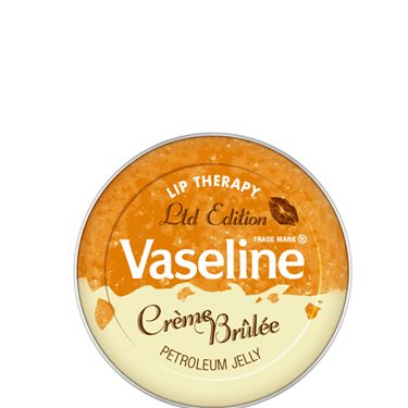 """<p>If you haven't heard of this yet, where have you been?! Good ol' Vaseline has turned all sweet on us and  reinvented itself in a Creme Brulee flavour. This indulgent little pot, that's not as sickly sweet as you might  think by the way, is only available for a short time so grab it now before everyone else gets one </p><p>£2.99, exclusive to <a href=""""http://www.selfridges.com/en/Beauty/Categories/NEW-IN/Make-up-colour/Limited-Edition-Lip-Therapy-Creme-Brulee_481-73029548-8770624/"""" target=""""_blank"""">selfridges.com</a> </p>"""