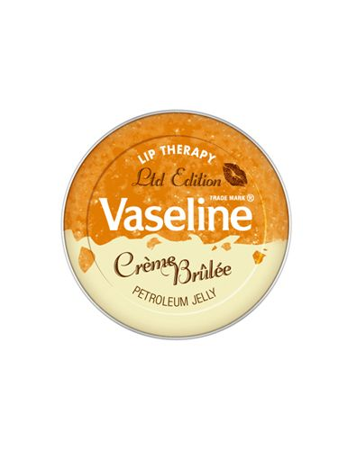 "<p>If you haven't heard of this yet, where have you been?! Good ol' Vaseline has turned all sweet on us and   reinvented itself in a Creme Brulee flavour. This indulgent little pot, that's not as sickly sweet as you might   think by the way, is only available for a short time so grab it now before everyone else gets one </p> <p>£2.99, exclusive to <a href=""http://www.selfridges.com/en/Beauty/Categories/NEW-IN/Make-up-colour/Limited-Edition-Lip-Therapy-Creme-Brulee_481-73029548-8770624/"" target=""_blank"">selfridges.com</a> </p>"