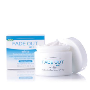 """<p>There's a new range that has made pigmentation its enemy number one it's called Fade Out. Through  naturally active ingredients such as mulberry and liquorice it aims to even out skin tone, protect and correct pigmentation concerns. The range contains five products and all under a £10! </p><p>From £7.99, from <a href=""""http://www.boots.com/en/Fade-Out-White-Protecting-Day-Cream_1143616/"""" target=""""_blank"""">boots.com </a></p>"""