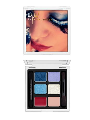 <p>Yes, this palette really is as beautiful as it looks! Shu has brought cinema and cosmetics together by collaborating with internationally renowned film director Wong Kar Wai, known as 'master of colours'. There are three palettes each featuring a scene from the exclusive film he shot to promote the collection </p> <p>£39, available in store at Liberty</p>