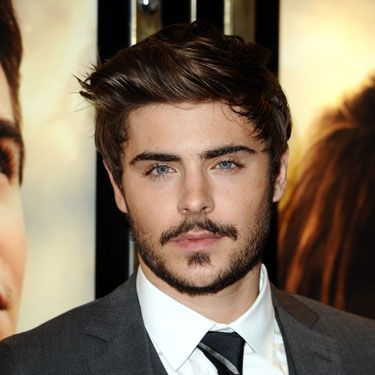 Gone are the days when pretty boy Zac Efron was the perfect part for High School Musicals - he's now a fully-fledged man! We reckon his moustache gives him just the right amount of macho points, perfect against those dreamy blue eyes. Gush!