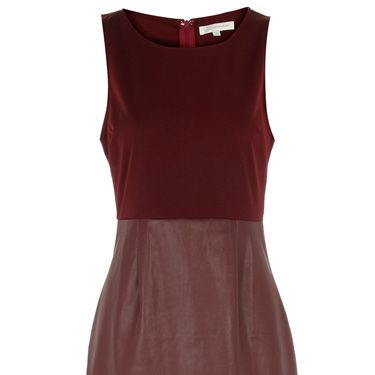 """<p>If <em>Twilight</em> and <em>True Blood</em> have taught us anything this year, it's that being just a little bit devil-may-care vampish is ALWAYS a good look. Emulate the effortless style of those fanged fitties with this gorgeous red-wine leather dress&#x3B; perfect for adding drama to your winter wardrobe!</p><p>£33, <a href=""""http://www.dorothyperkins.com"""">Dorothy Perkins</a></p>"""