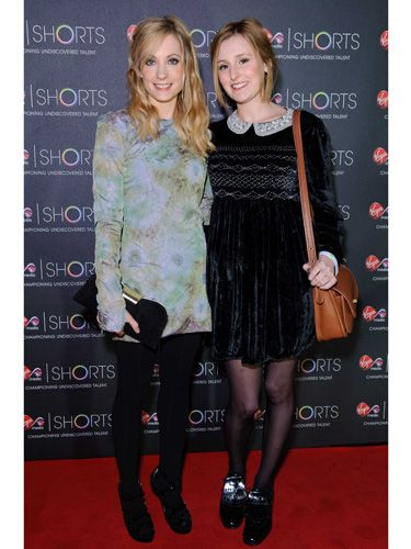 Upstairs mingling with downstairs? Surely not! <em>Downton Abbey</em> babes, Joanne and Laura, ditched the bustles and mob caps for something a little shorter and more up-to-the-minute when they hit the red carpet at the Virgin Media Shorts Awards Ceremony. Impossibly gorgeous!