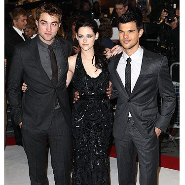"Cue screaming Twifans… The Twilight Trio, Robert Pattinson, Kristen Stewart and Taylor Lautner hit the red carpet at Westfield Stratford for the European premiere of Twilight Breaking Dawn Part 1. Thousands of fans turned out to get a glimpse of the  three main characters from the Twilight series and they weren't disappointed. RPattz, KStew and Taylor spent hours in the freezing cold chatting to fans, signing autographs and having their pictures taken. Kristen told Cosmo: ""It's amazing to be able to work alongside people who have the same interests as you&#x3B; the actors, the directors, you know, it's enough working with people that share your passion. But even more so with those fans who support you, having such a connection with fans is amazing - and you've not even met them? It's phenomenal."