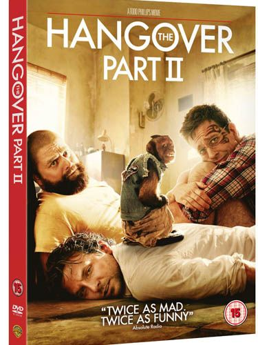 """<p>Just when your boyfriend was sobering up from the laughs of the first film, The Hangover Part II will keep him laughing into the New Year</p><p>£9.97, <a href=""""http://www.amazon.co.uk/Hangover-Part-II-DVD/dp/B004NBYRXS/ref=zg_bsnr_283926_9"""">Amazon</a></p>"""