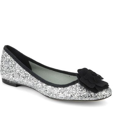 <p> Oh wow, how adorable are these sequinned ballet pumps? Combining supersized style points with some much-needed comfort factor, these little lovelies mean you have absolutely no excuse not to dazzle, whether it's on the dancefloor or just popping to the shops with the girls. 