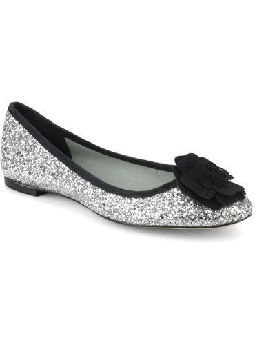 "<p> Oh wow, how adorable are these sequinned ballet pumps? Combining supersized style points with some much-needed comfort factor, these little lovelies mean you have absolutely no excuse not to dazzle, whether it's on the dancefloor or just popping to the shops with the girls.  </p> <p>£129, Beyond Skin at <a href=""http://www.sarenza.co.uk/beyond-skin"">Sarenza.co.uk</a></p>"