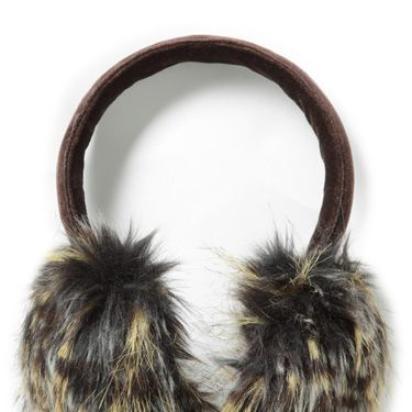 <p> How gorgeous are these faux-fur earmuffs? Fun and fashionable, they're the best way to keep warm in style