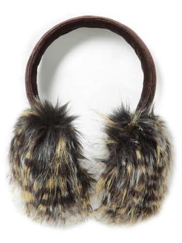 "<p> How gorgeous are these faux-fur earmuffs? Fun and fashionable, they're the best way to keep warm in style </p> <p>£80, <a href=""http://www.frenchconnection.com"">FCUK</a></p>"