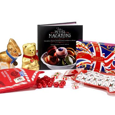 """<p> It's official&#x3B; all girls are big kids when it comes to Christmas and that is the ultimate excuse for having an attack of the sweet tooth over the festive period. To make sure your favourite gal isn't stuck eating run-of-the-mill chocs (no style, no panache!) then make sure you gift her one of these amazing presents… </p><p>Clockwise from top:</p> Les Petits Macarons, £10.99, <a href=""""http://www.amazon.co.uk/Petits-Macarons-Colorful-French-Confections/dp/0762442581"""">Amazon.</a>Union Jack truffle box, £15, <a href=""""http://www.prestat.co.uk/chocolates/union_jack_box_truffles_200g"""">Prestat.</a>Hope & Greenwood Stocking, £9.99, <a href=""""http://www.selfridges.co.uk"""">Selfridges.</a>Hope & Greenwood Letter to Santa, £9.99, <a href=""""http://www.selfridges.co.uk"""">Selfridges.</a>Chocolate Reindeer, 99p, Aldi.</p>Lindt Chocolate Bear, £3.19, Lindt</a></p>"""