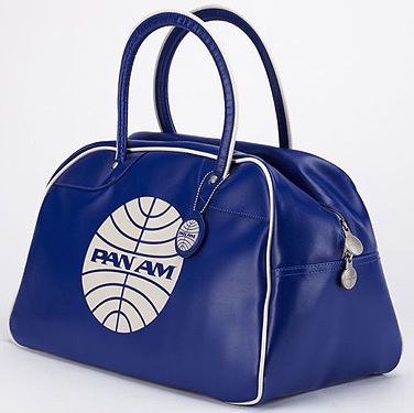 The planes were glamorous, the pilots heroic and the stewardesses were the most desirable women in the world - that's what Pan Am is all about. If you really want to embrace the Pan Am trend you MUST buy a holdall bag  - perfect for a weekend getaway