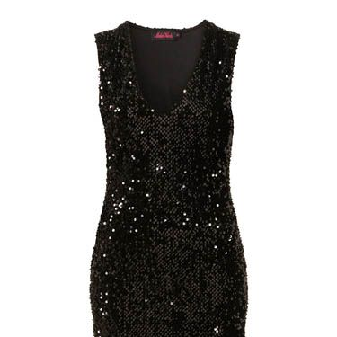 """<p>Sequin dresses don't come more classic than this little number. The object of your affection will be blinded by your beauty in it!</p><p>£58, <a href=""""http://www.topshop.com/webapp/wcs/stores/servlet/ProductDisplay?beginIndex=0&viewAllFlag=&catalogId=33057&storeId=12556&productId=4216151&langId=-1&sort_field=Newness&categoryId=208523&parent_categoryId=203984&pageSize=20"""">Topshop</a></p>"""