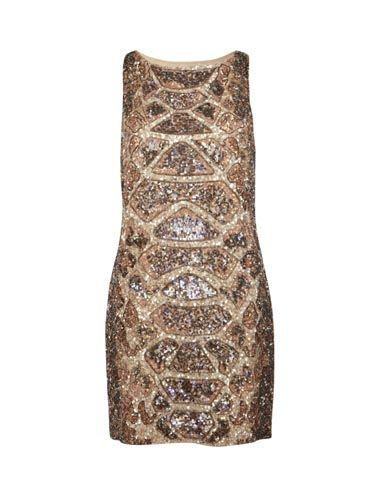 """<p>Make your sequin addiction look like high-fashion treasure with this intoxicating dress from All Saints. Make sure your hair is slick and chic to really make the dress stand out</p>  <p>£295, <a href=""""http://www.allsaints.com/women/dresses/allsaints-embellished-python-dress/?colour=2854&category=22""""> All Saints</a></p>"""