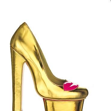 """<p>Check out these heels, they are so luxe! Forget painting the town red, paint the pavements gold, and follow in the footsteps of trend-setting Nicola Roberts who recently rocked them – she teamed hers with jeans!</p><p>£159.99, <a href=""""http://kandeeshoes.com/index.php?main_page=product_info&cPath=1&products_id=8"""">Kandee</a></p>"""