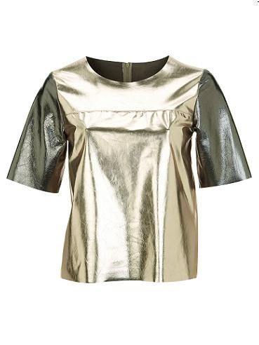 """<p>Shimmy on down to the dancefloor with this gorgeous top. Others will be green with envy that's for sure! <p>£100, <a href=""""http://www.topshop.com/"""">Topshop</a></p>"""