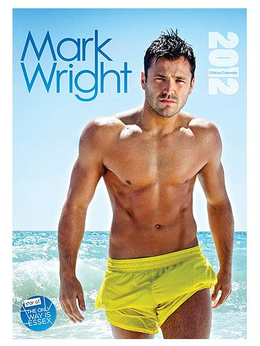 "Yep, Mark Wright is gorgeous in January, February, March, April… you get the drift! This isn't so much a guilty pleasure, it's just plain Pleasurable. We know he's Mr Wrong, even if his name suggests otherwise <p>£7.99, <a href=""http://www.danilo.com/Glamour_calendars_2012/glamour_calendars_2012/Mark_Wright_(The_Only_Way_Is_Essex)_2012_Calendar"">Danilo.com</a></p>"
