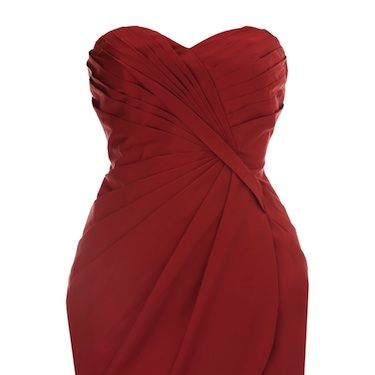 """<p> This valentine-red gown is utterly luxe&#x3B; from the sweetheart neckline to the beautiful draping style and that screen-siren red hue, this would go perfectly with pretty heels and a classic up-do </p><p>£50, <a href=""""http://warehouse.co.uk/"""">Warehouse</a></p>"""