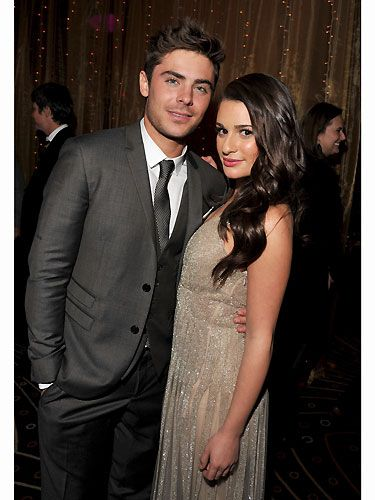 If only Rachel Berry could see her now, getting up-close-and-personal with the delectable Zac Efron. We are astounded by how pretty this pair look - don't they make a good couple? When Cosmo asked the two of them what their New Year's resolutions were they told us:  Zac: I really want to make an effort this year to spend more time with my family because I just feel I never get the chance to go off with them individually. So I got my little brother and my dad big old backpacks, like Bear Grylls, and I want to take them on the Appalachian Trail. And then my mum, I want to go with her somewhere unforgettable that she will appreciate. To spend time with them to say, 'Thank you! Thank you, Mum and Dad!'  Lea: I don't really write anything down, but I made a resolution a couple of years ago to not go to bed wearing boxers and T-shirts, but to actually wear something nice so that I feel good, and I have actually stuck with that one. But I just like to continue to be healthy and work hard, but also spend time with my family – that's important.  Sorry, but did Zac just say he wanted to be Bear Grylls – someone get us a cold shower!