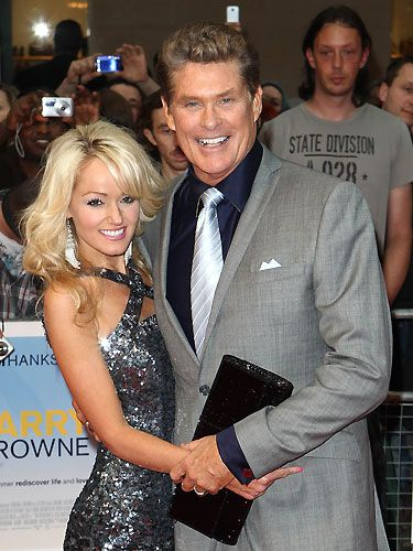 Though David Hasselhoff is 27 years older than Hayley Robertsm that hasn't stopped him from proposing to her a whopping FIVE times! You know how thew saying goes: 'If at first you don't succeed…'